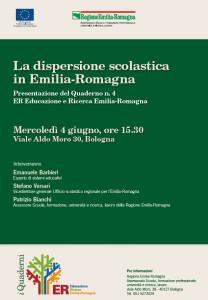 La dispersione scolastica in Emilia-Romagna @ Regione Emilia-Romagna | Bologna | Emilia-Romagna | Italia